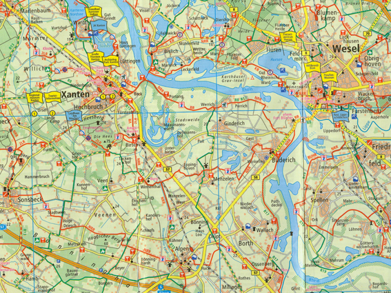 Wesel Map